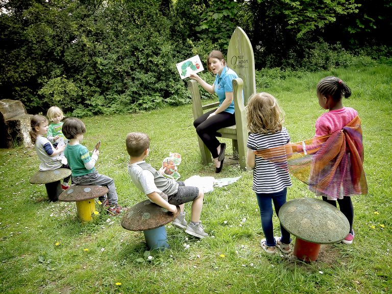 Hungry Caterpillar Outdoor Reading