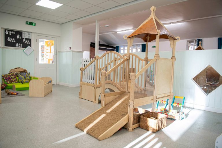 Indoor equipment at Headingley Nursery