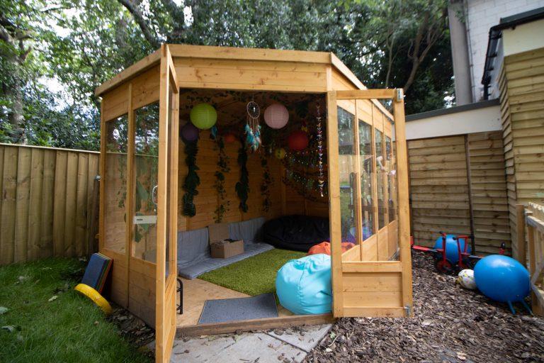 Moorlands Nursery Outdoor Cosy Play Space