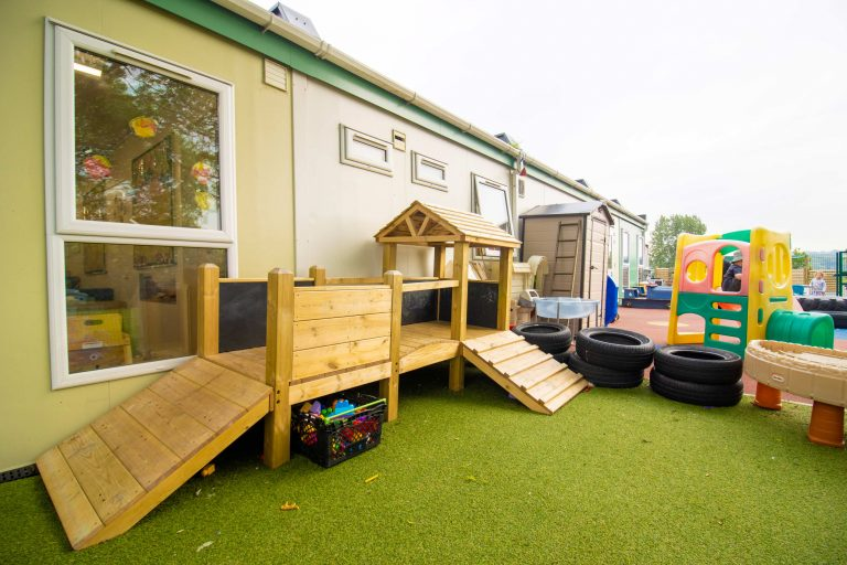 Outdoor area at Valley View Nursery
