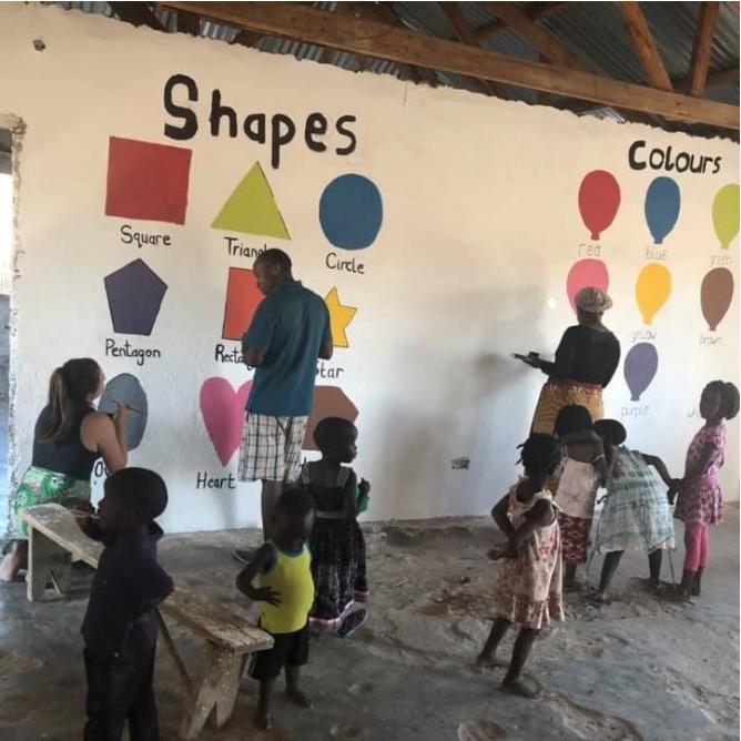 Children Learning in Malawi